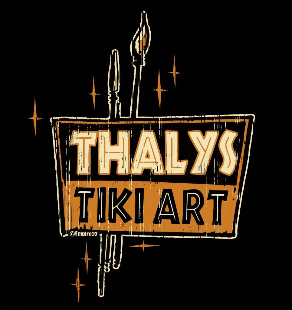 Thalys Tiki Art