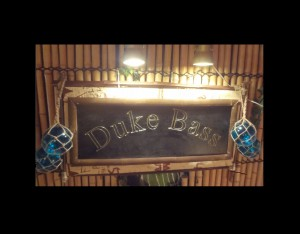 DUKE BASS - TIKI SIGN