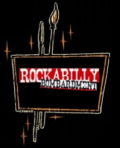 tiki-Logo-rockabilly bombarment